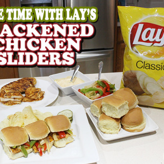 game time recipe- blackened chicken sliders