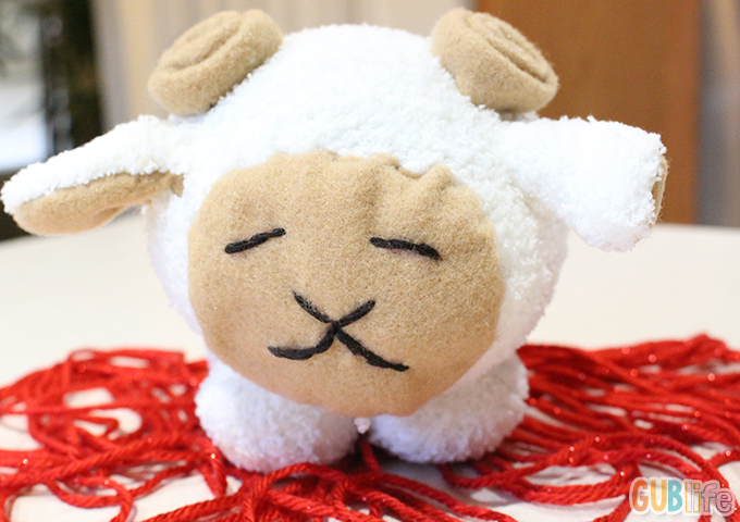 chinese new year 2015-diy ram plushie