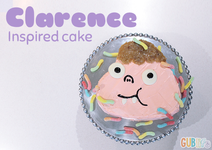 how to cartoon network clarence cake