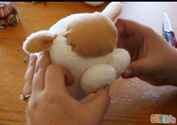 sock plushie- sheep and ram