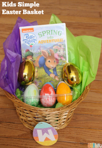 KIDS SIMPLE EASTER BASKET