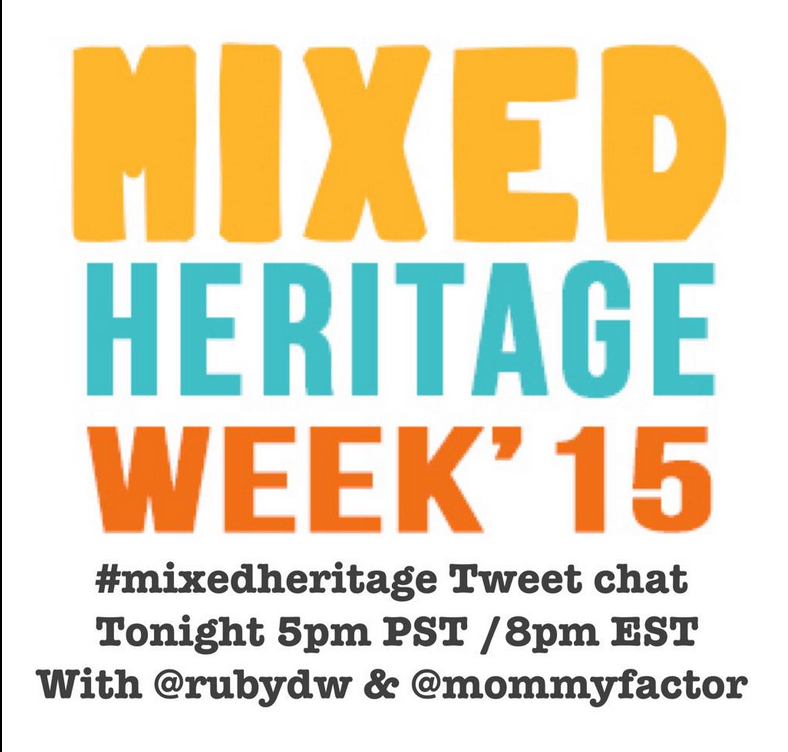 mixed heritage tweet chat