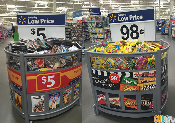 affordable movie night with Walmart