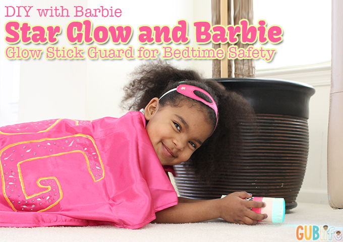 diy with barbie and star glow