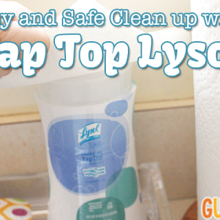 easy and safe cleaning with tap top lysol