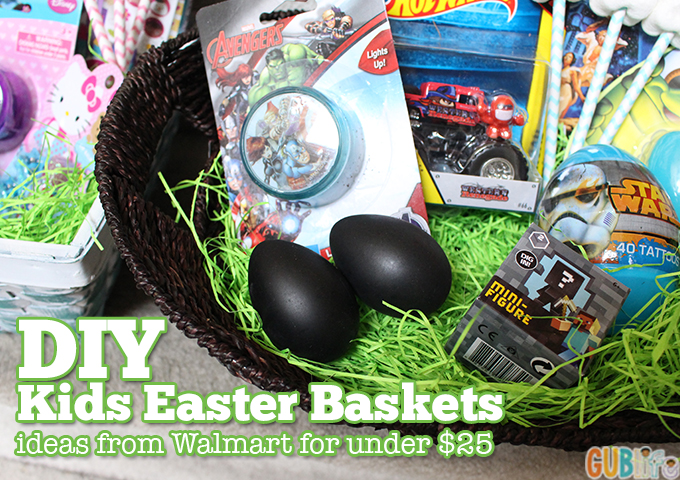 easy easter baskets for kids-
