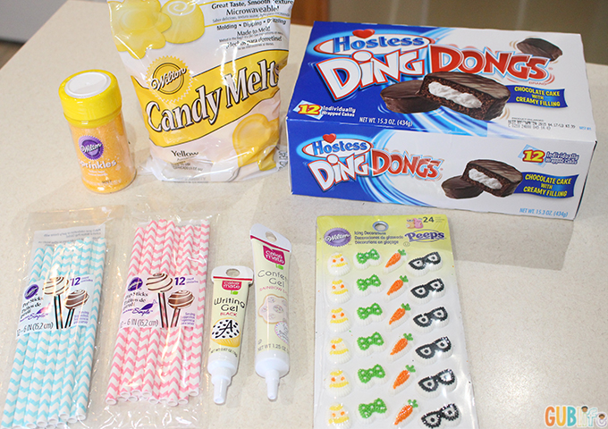 making dingdong pops - ingredients