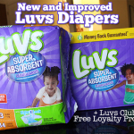 New and Improved Luvs Diapers and Luvs Club