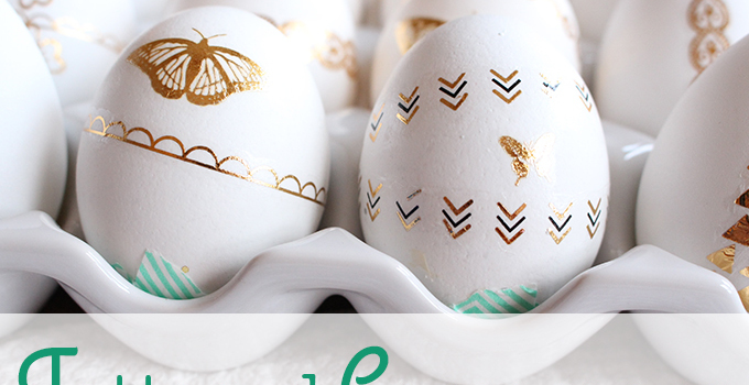 Easter DIY: Tattooed Cascarones and Decorative Chalkboard Eggs