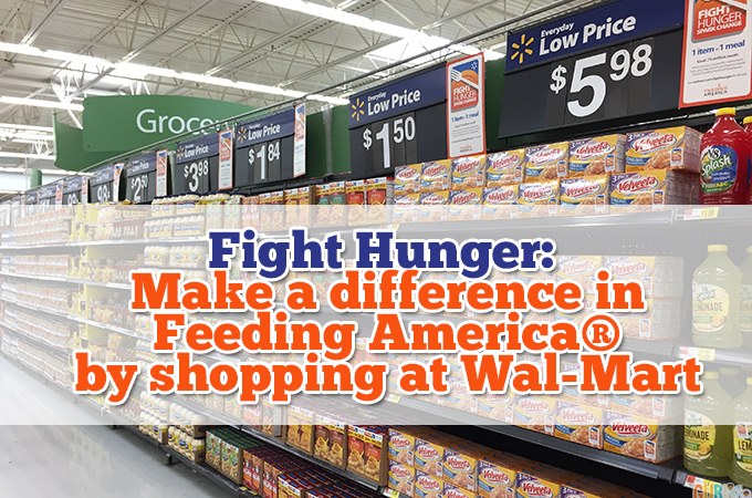 fight hunger with walmart