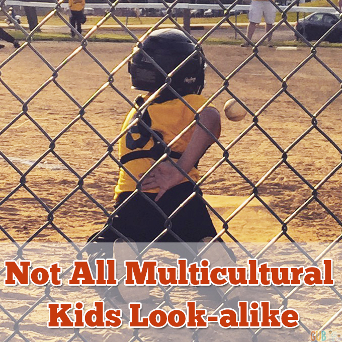 not all multicultural kids look-alike