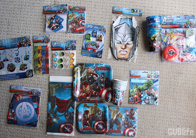 AVENGERS PARTY MUST-HAVES