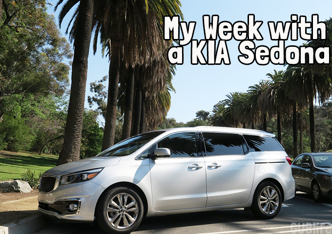 my week with a kia sedona