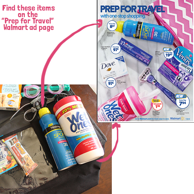 walmart ad prep for travel finds
