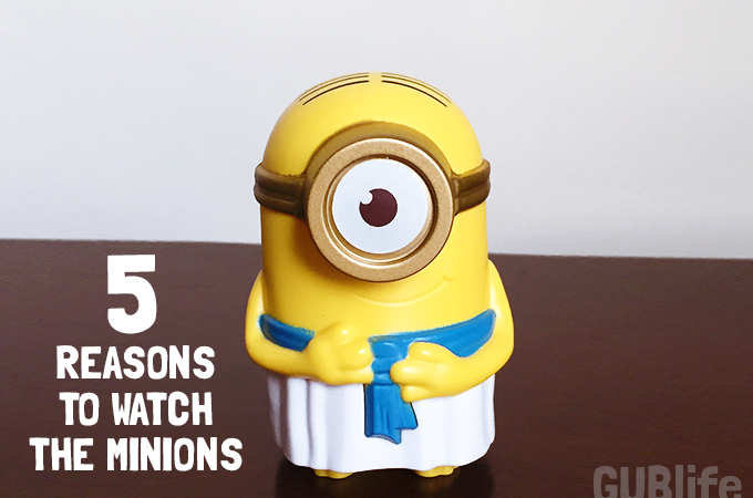 5 reasons to watch the minions