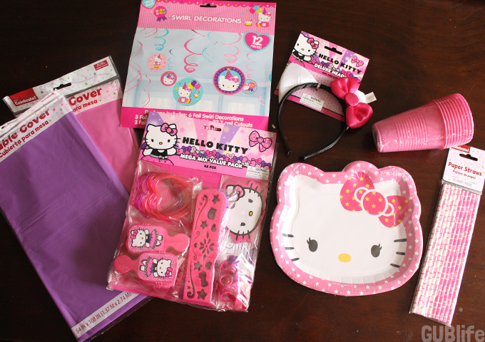hello kitty birthday supplies at walmart