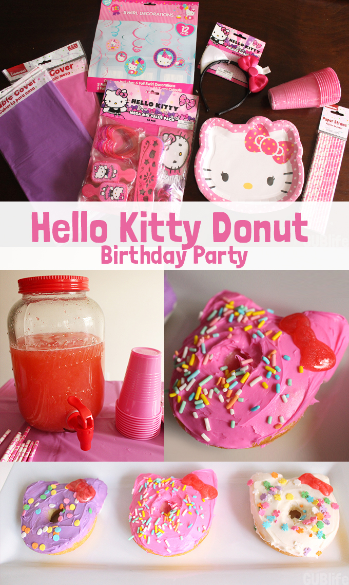 Hello Kitty Donuts Party Gublife