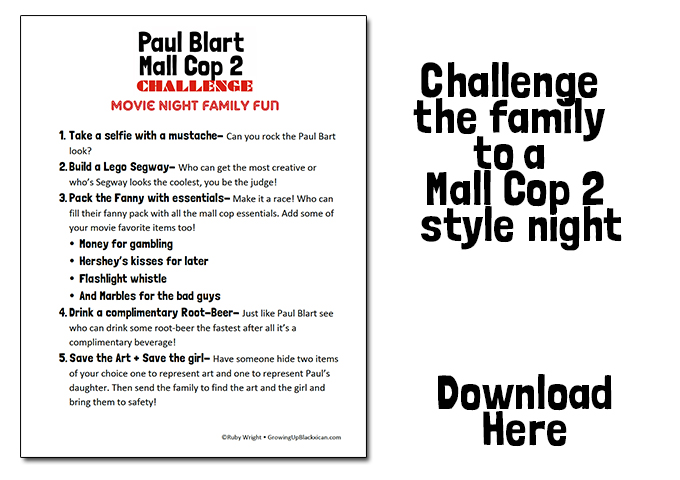 paul blart challenge download