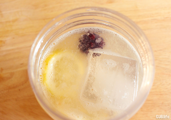 Sparkling Fresh Lemonade-