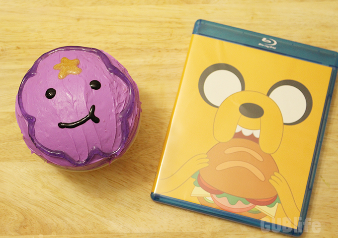 adventure time- dvd and blu ray