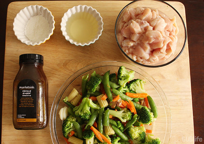 simple meals stir fry chicken-Ingredients