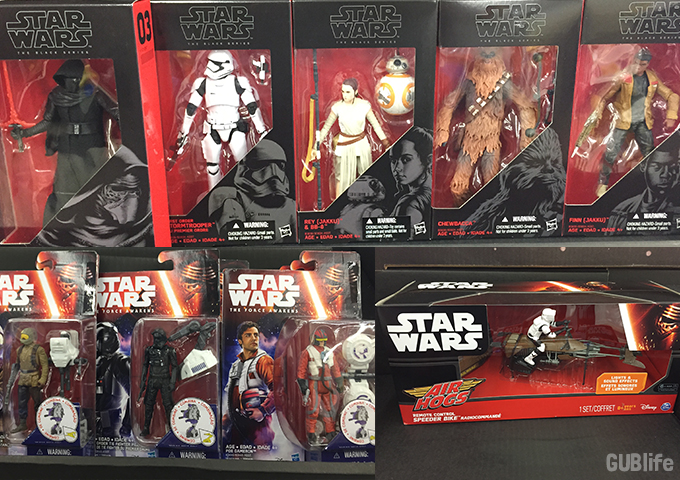 force friday finds at walmart-action figures