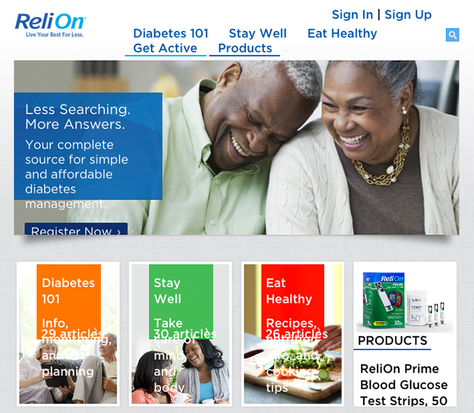 ReliOn website