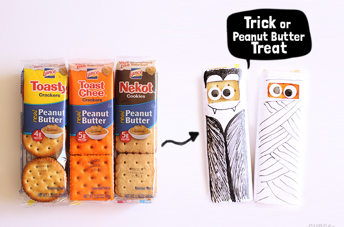 Trick or treat Lance Peanut Butter Crackers