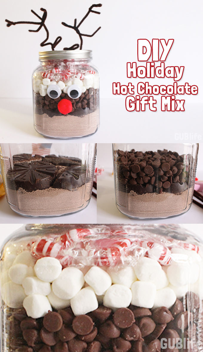 DIY Holiday Gift: Hot Chocolate Gift Mix - GUBlife