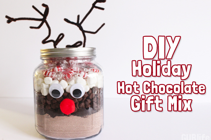 diy holiday hot chocolate gift mix