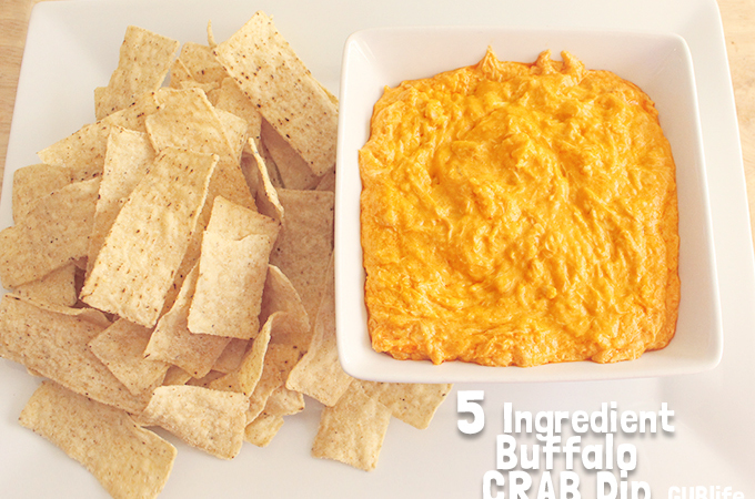 gametime recipe Buffalo Crab Dip