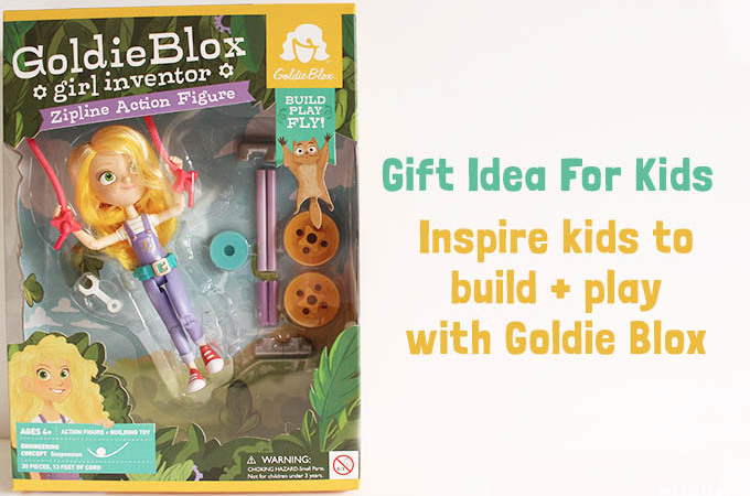 gift idea for kids Goldie Blox