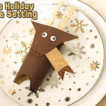 Holiday DIY: Kids Holiday Place Setting