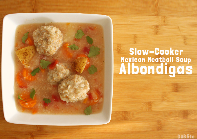 slow cooker albondigas