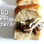 BBQ Beef Sliders for GameTime