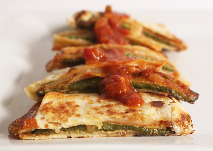 Chile Relleno Quesadilla-