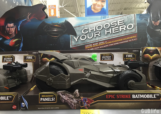 batman v superman choose your hero at walmart