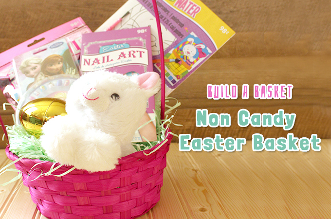 build a basket non candy easter basket