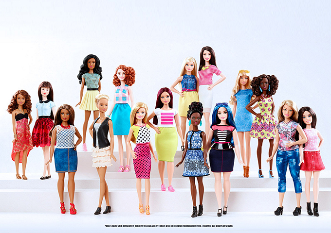 diversity for our kids the doll evolved- barbie