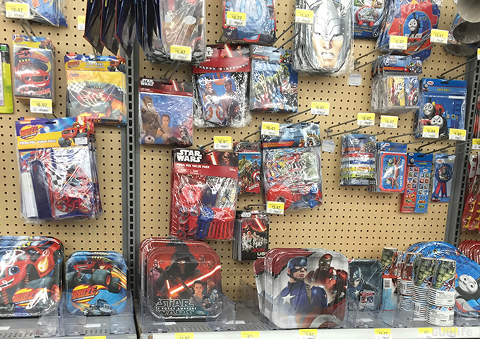 star wars party supplies walmart