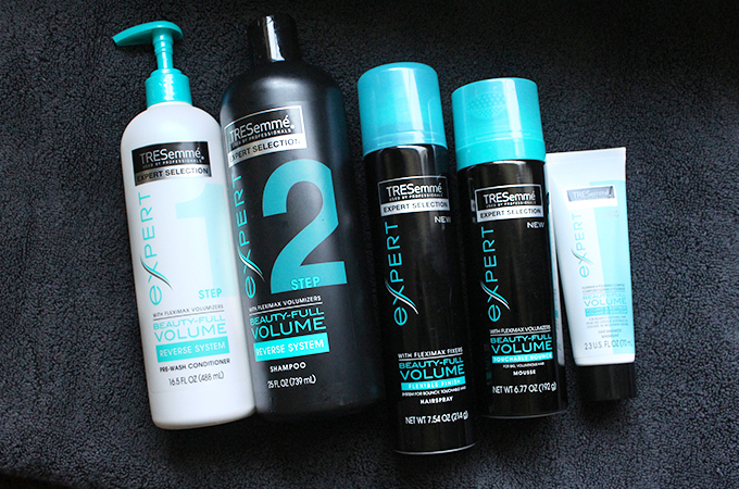 tresemme Beautyfully volume-collection