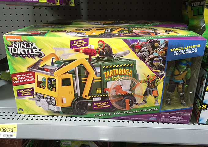 TMNT tactical truck with Leo