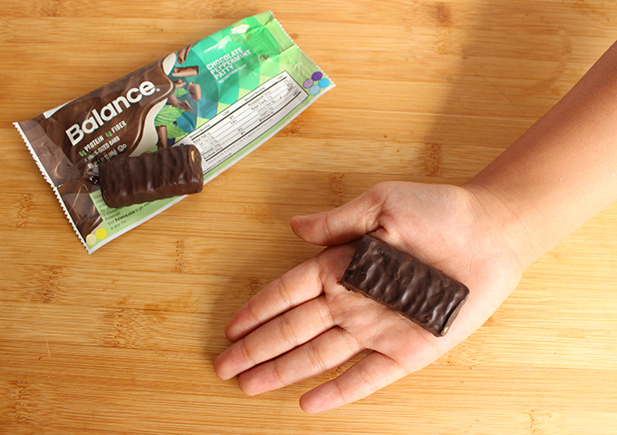 balance bar- chocolate peppermint patty