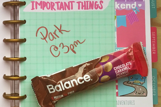 snack smarter with Balance Bars-