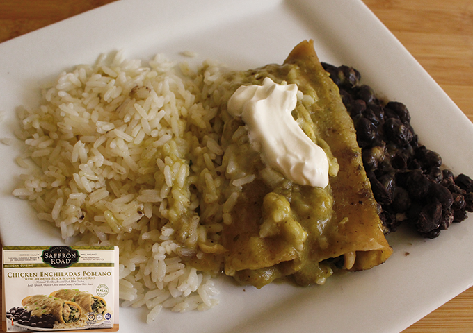 chicken enchiladas poblano