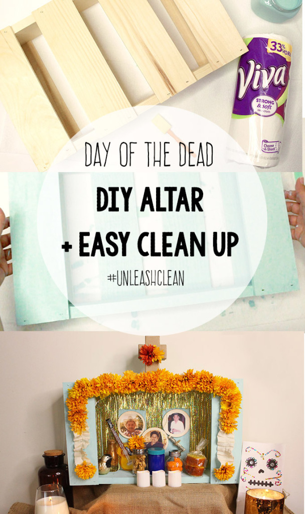 Day of the dead DIY altar