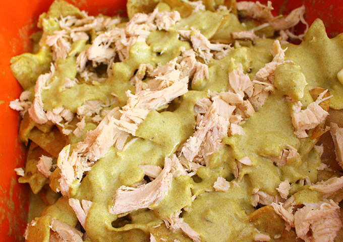 chilaquiles-sauce-and-chicken