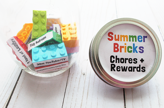 Summer Bricks-Chores-rewards-kids