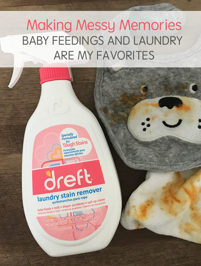 Making Messy Memories How Baby Feedings and Laundry became my favorites