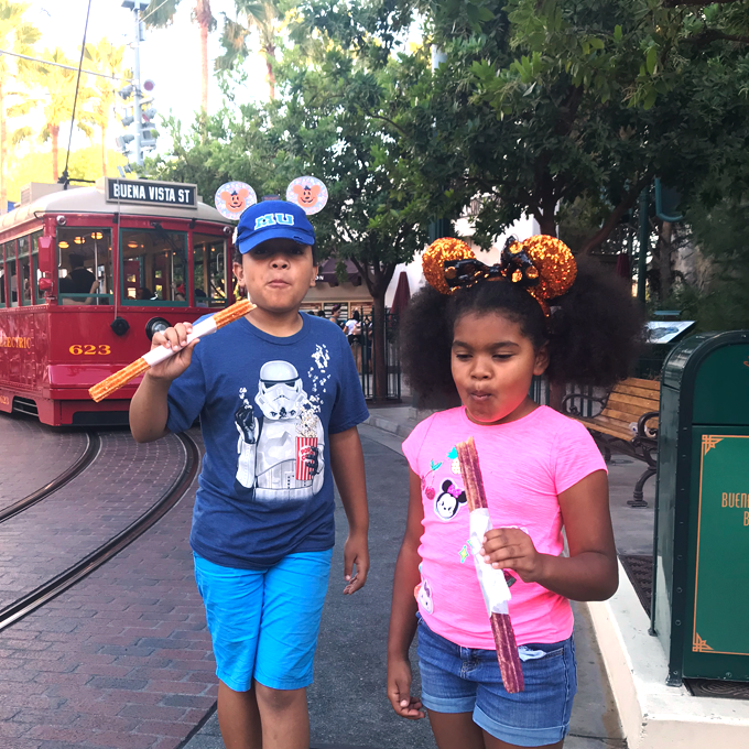 churros at disney